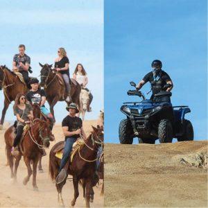ATV Horseback Combo